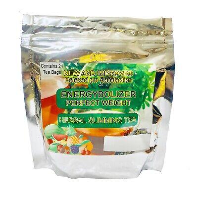 Energybolizer Perfect Weight Herbal Slimming Tea (24 Bags) ORANGE SPICE
