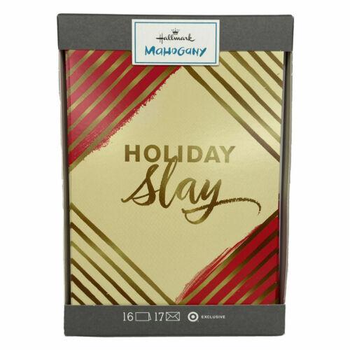 Hallmark Mahogany Holiday Slay Christmas Greeting Cards 16 Count