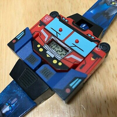 Transformer Hasbro Accutime LCD Digital Quartz Watch Hours~New Battery