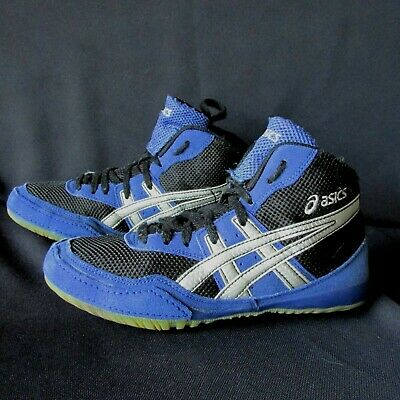 asics youth wrestling shoes size 4.5 mm