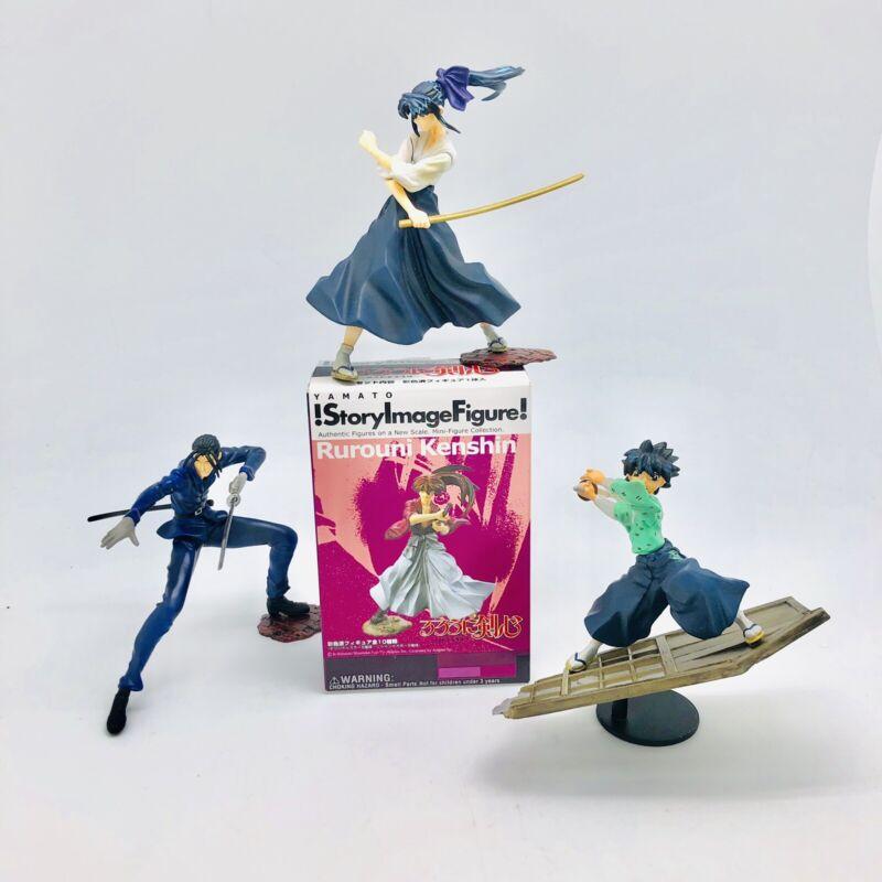 Rurouni Kenshin Himura Yamato Story Image Figure Lot  Koaru Saito Yahiko W/boxes