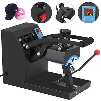 Hat Cap Heat Press 7x3.5 Digital Clamshell Transfer Sublimation Machine Diy