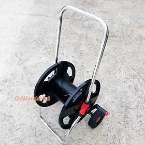 Garden Hose Reel Cart 45M Home Water Hose Storage Aluminium Handl Epping Whittlesea Area Preview