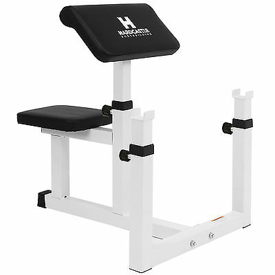 HARDCASTLE PREACHER BENCH STRICT ARM/BICEP CURL WEIGHT LIFTING BARBELL HOME GYM