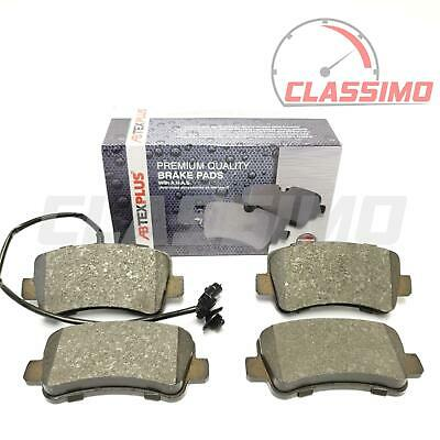 Rear Brake Pads for VAUXHALL MOVANO B + RENAULT MASTER Mk 3 + NISSAN NV400