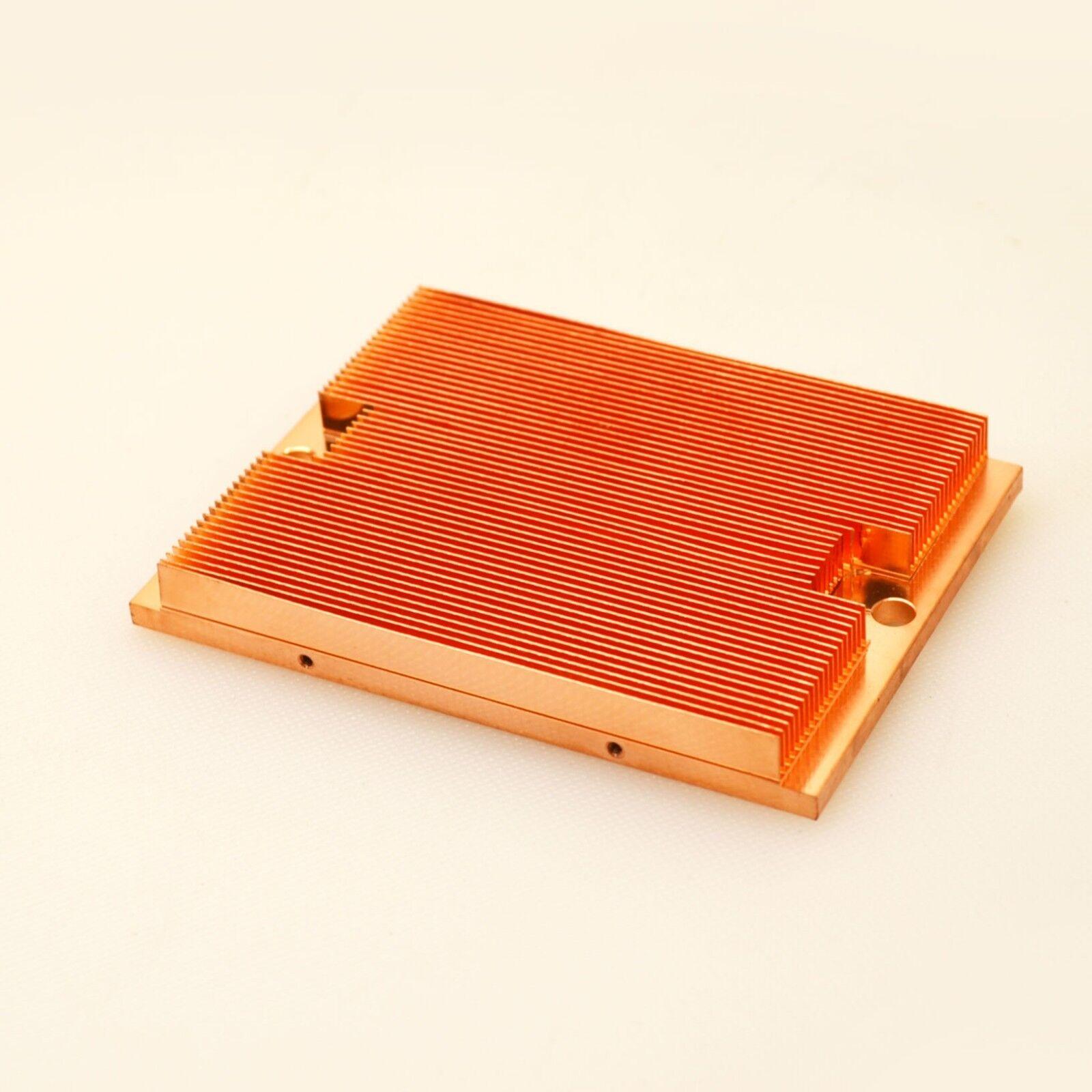 pure copper heat transfer heatsink 3 85