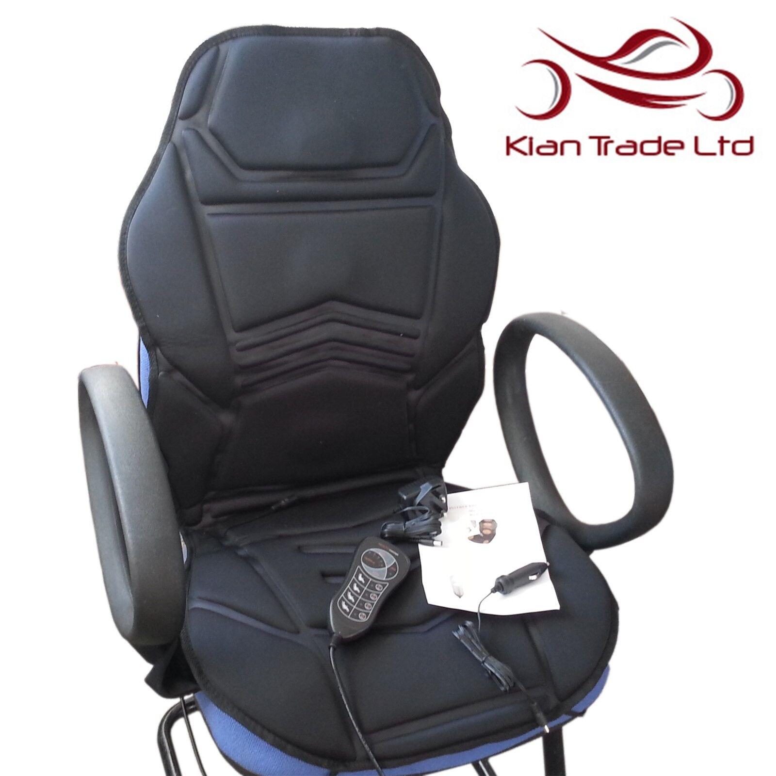 MASSAGGIO Riscaldato Sedile per sedia Cuscino Casa Ufficio auto rilassante