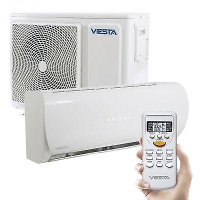 Viesta Split Klimaanlage AC09 Klima Splitgerät 9000BTU Klimagerät 3,2kW Inverter