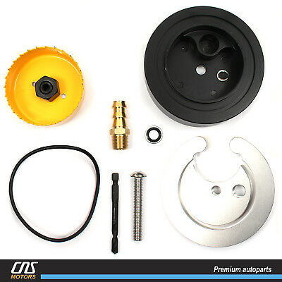 Diesel Gas Performance Fuel Tank Sump Kit for 01-16 Cummins Powerstroke Duramax