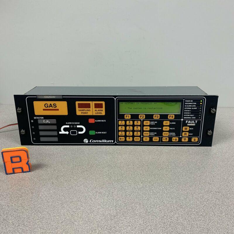 Consilium Salwico SW2020 Permanent Gas Detection Sampling Scanner Unit, *Tested*