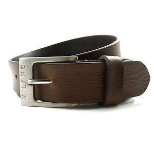 mens real brown leather belt 1 25 quot wide quality all sizes