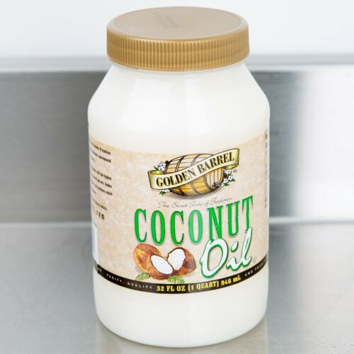 12 Pack - Golden Barrel 32 oz. Tasteless Odorless Cooking Frying Coconut Oil
