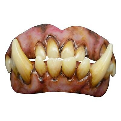Halloween Prosthetic (Adult Ogre Shrek Skyrim Orc Fangs Prosthetic Halloween Costume Teeth)