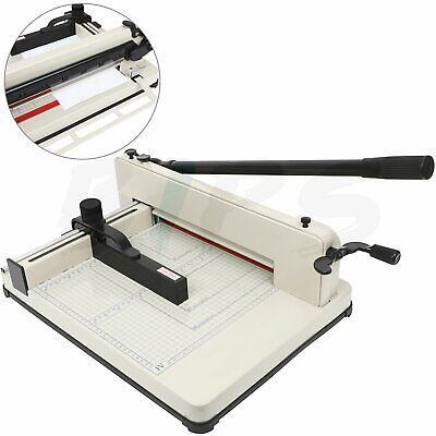Paper Cutter 17 Guillotine Page Trimmer Blade Scrap Metal Base