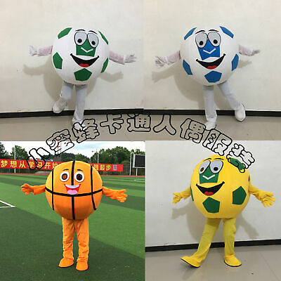 Soccer Basketball Mascot Costume Cosplay Sports Game Dress Outfit Adult - Kid Basketball Kostüm
