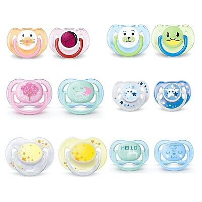 Philips Avent 2 Pack Pacifiers
