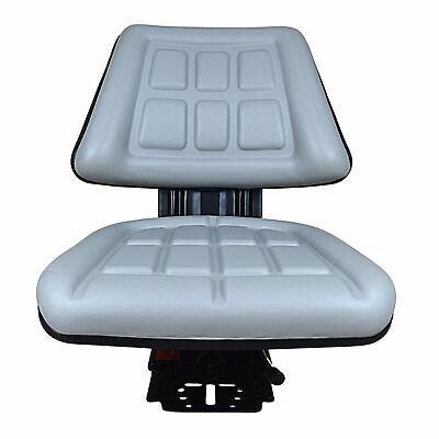Grey Triback Suspension Seat Fits Massey Ferguson 350 360 362 375 40b 65 Tractor