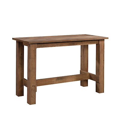 Sauder 427127 Boone Mountain Counter Height Dining Table, Vintage Oak®