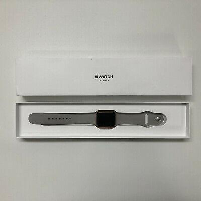 Apple Watch Series 3 38mm Gold Aluminum Case Watch GPS