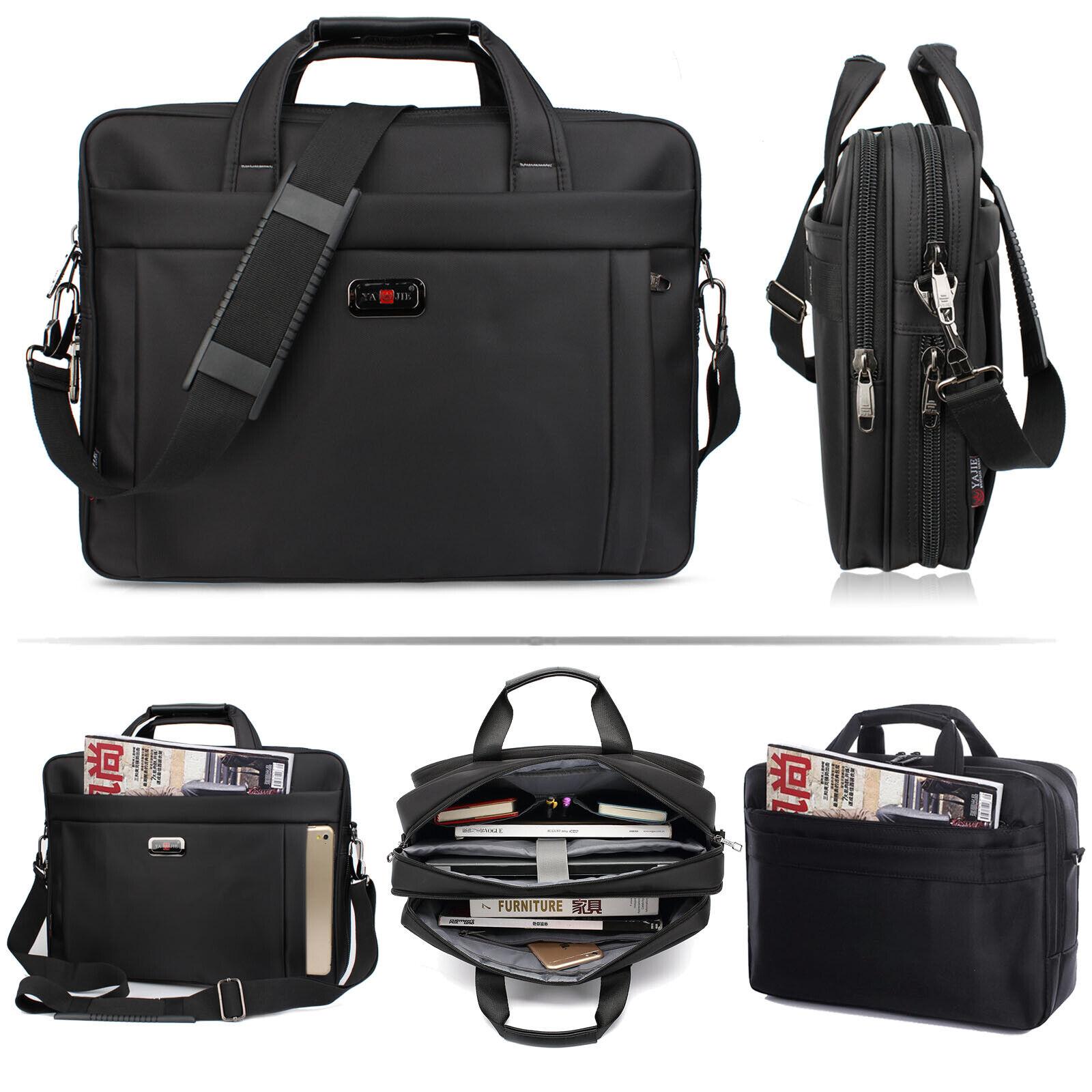 Laptop Computer Bag Case w Pocket & Handle Shoulder Strap 15