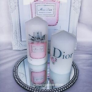 Miss Dior Inspired Candle Set Catherine Field Camden Area Preview