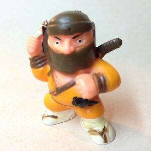 1986 MINI NINJA rubber figure from SOMA
