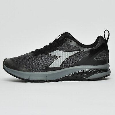 Diadora Kuruka 2 Mens Premium Running Shoes Fitness Gym Trainers Black
