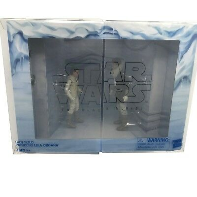 Star Wars Black Series Hoth Princess Leia and Han Solo exclusive set echo base](Leia And Han)