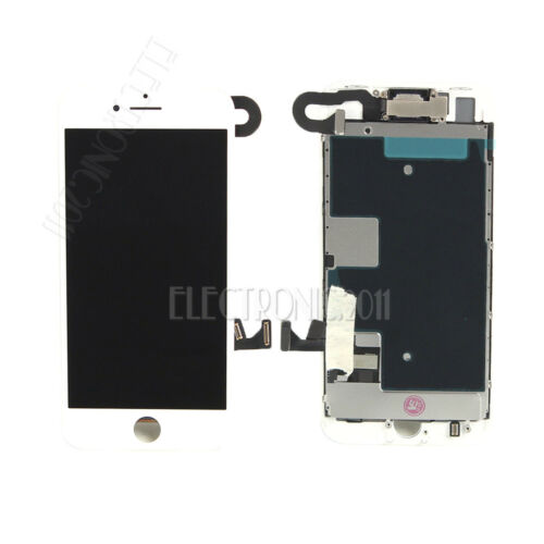 Original iPhone 7 8 Plus 6s 6 LCD Digitizer Complete Screen Replacement +Button