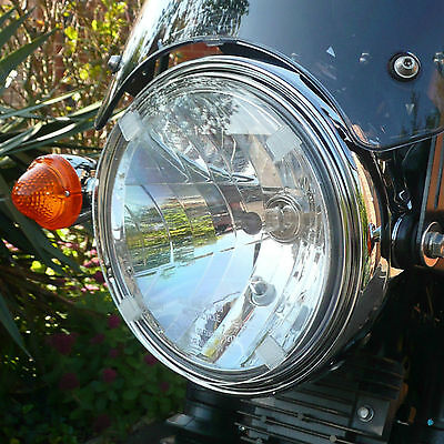 TRIUMPH THUNDERBIRD LT CLEAR HEADLIGHT PROTECTOR COVER