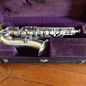 Conn Silver Alto Saxophone (Wonder) Marayong Blacktown Area Preview