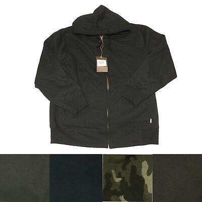 Weatherproof Men's Vintage 1948 Full Zip Long Sleeve Fleece Hooded Jacket Weatherproof Adult Zip Sleeve