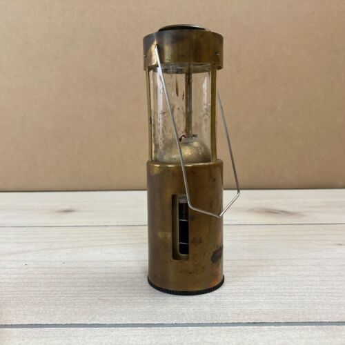 Vintage UCO Brass Candle Lantern Camping Hiking Redmond WA USA