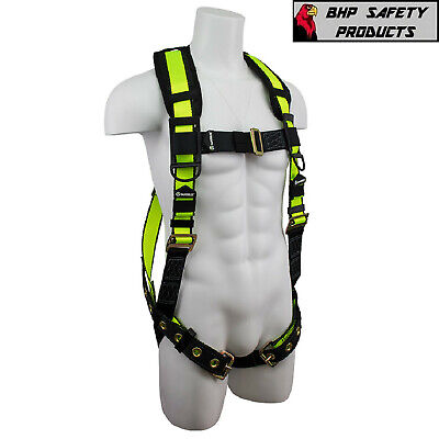 Fall Protection 1d Ring Safewaze Pro Padded Adjustable Treestand Harness System