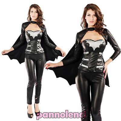 d Frau Batgirl Fledermaus Kleid Verkleidung DL-643 (Batgirl Kleid)