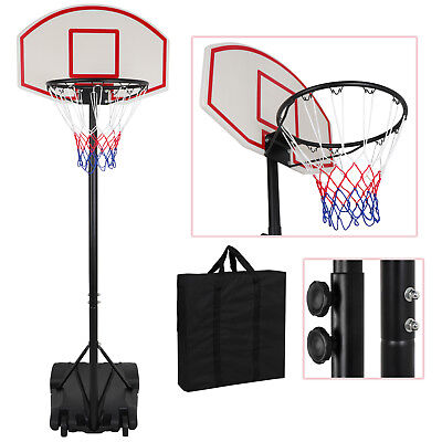 Adjustable Basketball Goal Hoop Backboard Rim Kids Portable Outdoor System - Cheap Basketball Hoop