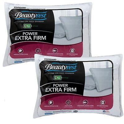 Set of 2 - Beautyrest Luxury Power Extra Firm Pillows - STANDAR size
