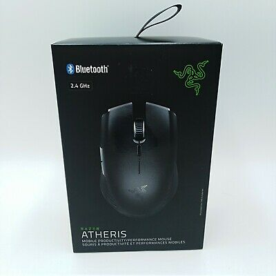 Razer Atheris Mobile Gaming Mouse True 7,200 DPI Optical Sensor New