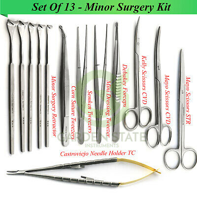 Minor Surgery Instruments Suture Tools Military Field Surgical Dissection Kit