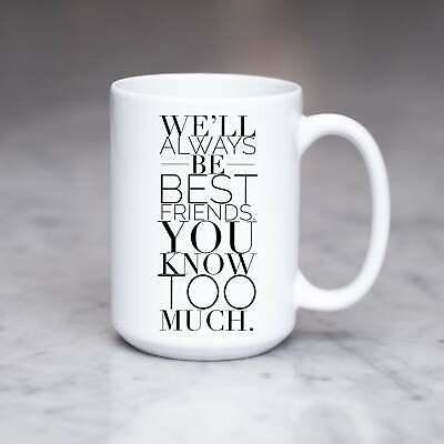 Birthday Gifts For Best Friend Female True Friendship Coffee Mug Gift Mug ()
