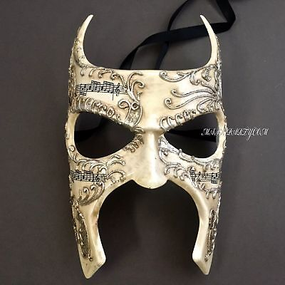 New Venetian Styled Masquerade Music Note Renaissance Faire Custom Eye Mask - Masquerade Custome