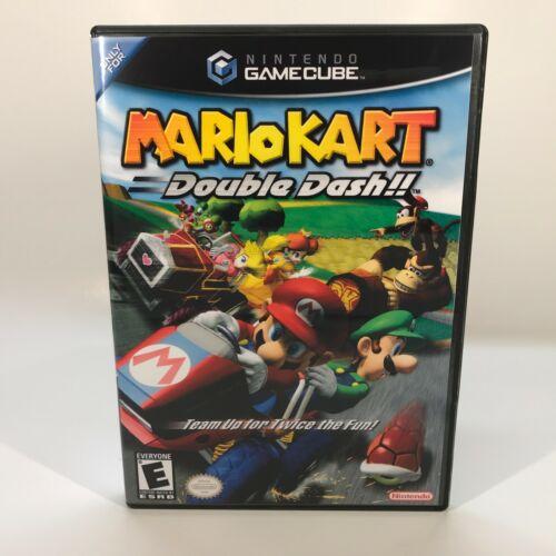 GameCube Reproduction Case - NO GAME - Mario Kart Double Dash!!
