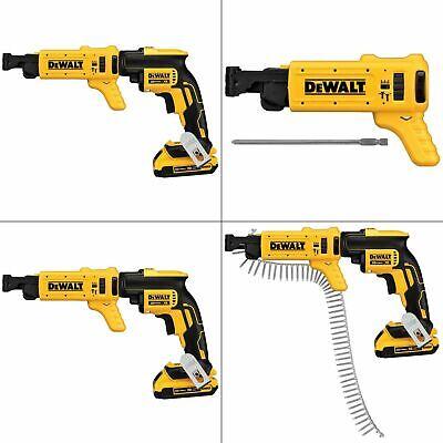 Collated Screw Gun Attachment Dcf6201 Drywall Dewalt Fastening Magazine 20v