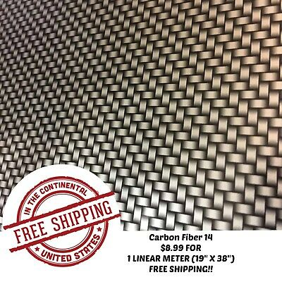 Hydrographic Water Transfer Hydro Dipping Dip Film Carbon Fiber 14 1m 19x38