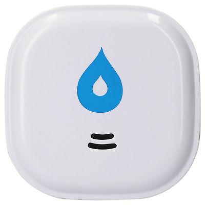 mumbi Wassermelder Wasseralarm 10 Jahres Batterie Keller Wasser Sensor