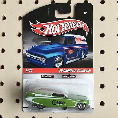 Hot Wheels Delivery Slick Rides '59 Cadillac Funny Car