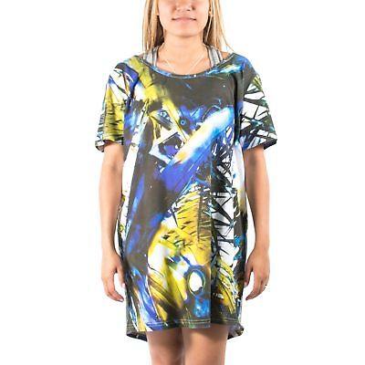 Women's PUMA x HUSSEIN CHALAYAN Burn Through Tee Dress size M $50
