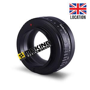 Selens Tilt-shift Lens Adapter Ring for M42 To Sony E Mount NEX NEX3 Camera UK