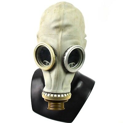 Soviet Costume (Soviet Russian USSR Gas Mask face respiratory protection cosplay costume)