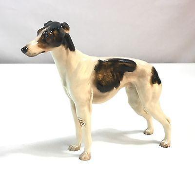 "Rare Vintage Royal Doulton Greyhound Dog Figurine Hn1077 4.75"" Tall"